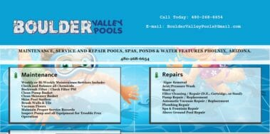 boulder valley website designed by azmarketer