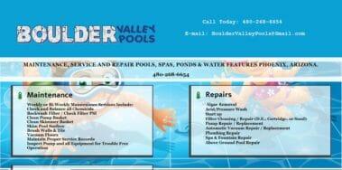 boulder valley website designed by azmarketer